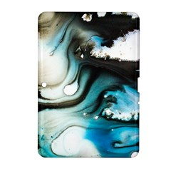 Abstract Painting Background Modern Samsung Galaxy Tab 2 (10 1 ) P5100 Hardshell Case