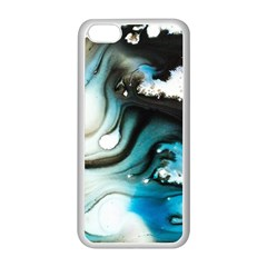 Abstract Painting Background Modern Apple Iphone 5c Seamless Case (white)