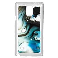 Abstract Painting Background Modern Samsung Galaxy Note 4 Case (white)