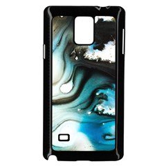 Abstract Painting Background Modern Samsung Galaxy Note 4 Case (black)