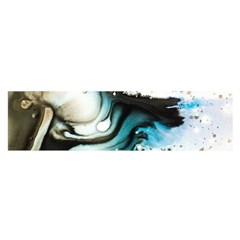 Abstract Painting Background Modern Satin Scarf (oblong)