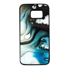 Abstract Painting Background Modern Samsung Galaxy S7 Black Seamless Case by Nexatart