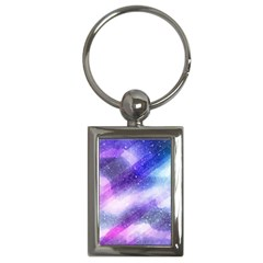 Background Art Abstract Watercolor Key Chains (rectangle)