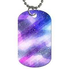 Background Art Abstract Watercolor Dog Tag (two Sides)