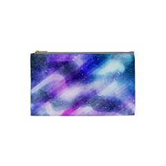 Background Art Abstract Watercolor Cosmetic Bag (small)