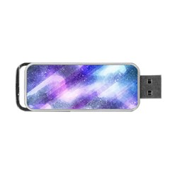 Background Art Abstract Watercolor Portable Usb Flash (one Side)