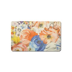 Texture Fabric Textile Detail Magnet (name Card)