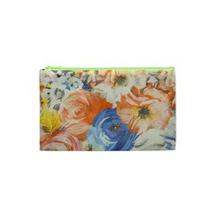 Texture Fabric Textile Detail Cosmetic Bag (xs)