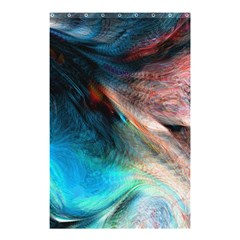 Background Art Abstract Watercolor Shower Curtain 48  X 72  (small)  by Nexatart