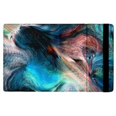 Background Art Abstract Watercolor Apple Ipad 3/4 Flip Case