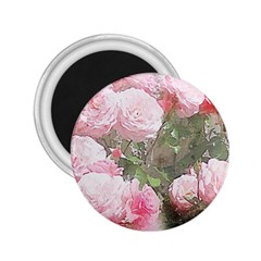 Flowers Roses Art Abstract Nature 2 25  Magnets by Nexatart