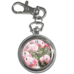 Flowers Roses Art Abstract Nature Key Chain Watches