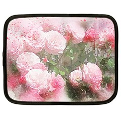 Flowers Roses Art Abstract Nature Netbook Case (xxl)