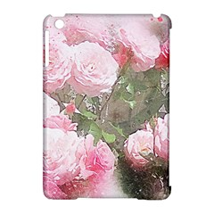 Flowers Roses Art Abstract Nature Apple Ipad Mini Hardshell Case (compatible With Smart Cover)