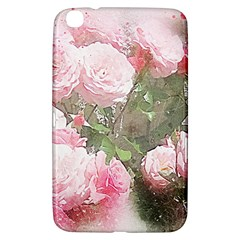 Flowers Roses Art Abstract Nature Samsung Galaxy Tab 3 (8 ) T3100 Hardshell Case
