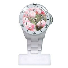 Flowers Roses Art Abstract Nature Plastic Nurses Watch