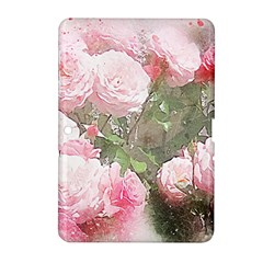 Flowers Roses Art Abstract Nature Samsung Galaxy Tab 2 (10 1 ) P5100 Hardshell Case