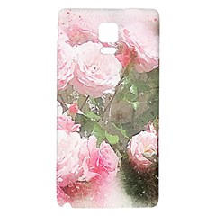 Flowers Roses Art Abstract Nature Galaxy Note 4 Back Case