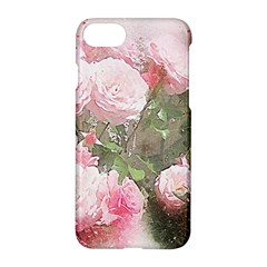 Flowers Roses Art Abstract Nature Apple Iphone 8 Hardshell Case