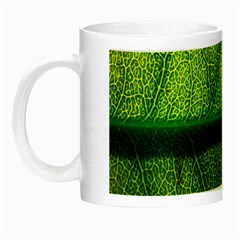 Leaf Nature Green The Leaves Night Luminous Mugs