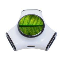 Leaf Nature Green The Leaves 3 Port Usb Hub