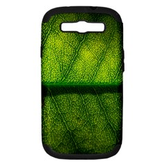 Leaf Nature Green The Leaves Samsung Galaxy S Iii Hardshell Case (pc+silicone) by Nexatart