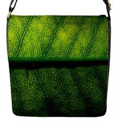 Leaf Nature Green The Leaves Flap Messenger Bag (s)