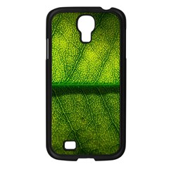 Leaf Nature Green The Leaves Samsung Galaxy S4 I9500/ I9505 Case (black)