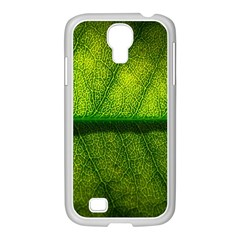 Leaf Nature Green The Leaves Samsung Galaxy S4 I9500/ I9505 Case (white)