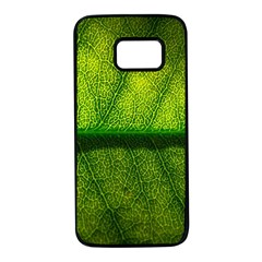 Leaf Nature Green The Leaves Samsung Galaxy S7 Black Seamless Case