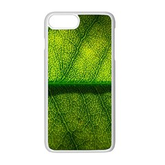 Leaf Nature Green The Leaves Apple Iphone 8 Plus Seamless Case (white) by Nexatart