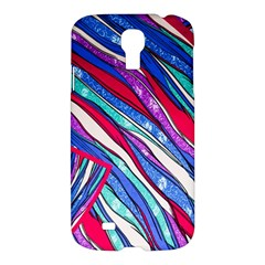 Texture Pattern Fabric Natural Samsung Galaxy S4 I9500/i9505 Hardshell Case