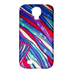 Texture Pattern Fabric Natural Samsung Galaxy S4 Classic Hardshell Case (pc+silicone)