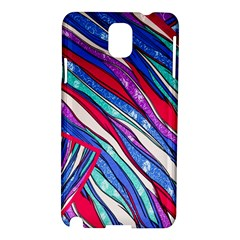 Texture Pattern Fabric Natural Samsung Galaxy Note 3 N9005 Hardshell Case