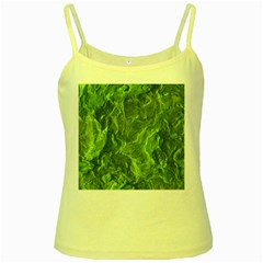Geological Surface Background Yellow Spaghetti Tank
