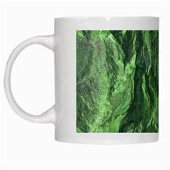 Geological Surface Background White Mugs