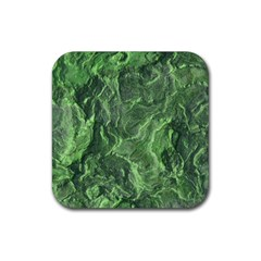 Geological Surface Background Rubber Coaster (square)