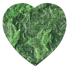 Geological Surface Background Jigsaw Puzzle (heart)