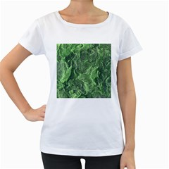 Geological Surface Background Women s Loose Fit T Shirt (white)