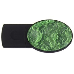 Geological Surface Background Usb Flash Drive Oval (4 Gb)
