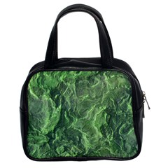 Geological Surface Background Classic Handbags (2 Sides)