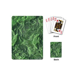 Geological Surface Background Playing Cards (mini)