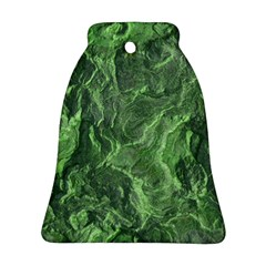 Geological Surface Background Bell Ornament (two Sides) by Nexatart