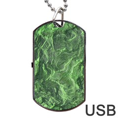 Geological Surface Background Dog Tag Usb Flash (two Sides)