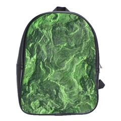 Geological Surface Background School Bag (xl) by Nexatart