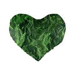 Geological Surface Background Standard 16  Premium Heart Shape Cushions
