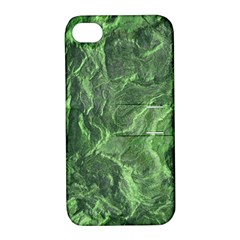 Geological Surface Background Apple Iphone 4/4s Hardshell Case With Stand