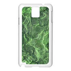 Geological Surface Background Samsung Galaxy Note 3 N9005 Case (white)