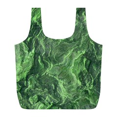 Geological Surface Background Full Print Recycle Bags (l)