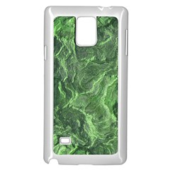 Geological Surface Background Samsung Galaxy Note 4 Case (white)